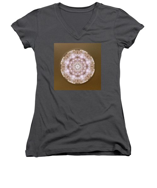 Buddha Blessing Women's V-Neck T-Shirt