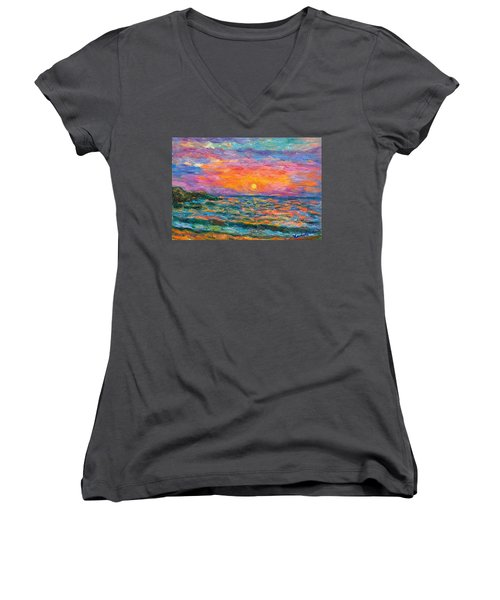 Burning Shore Women's V-Neck