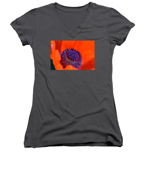 Bursting With Colour Women's V-Neck