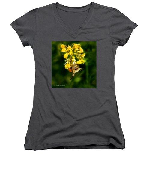 Busy Bee Women's V-Neck