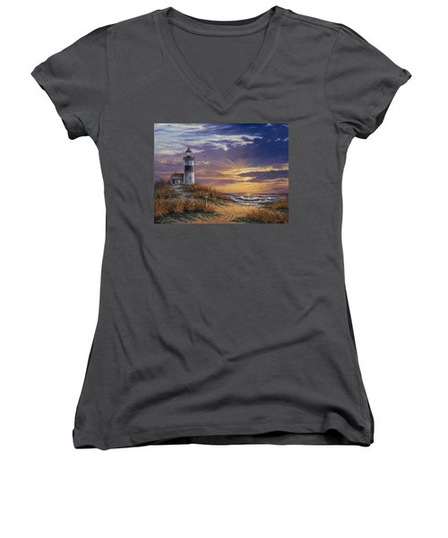 By The Bay Women's V-Neck (Athletic Fit)