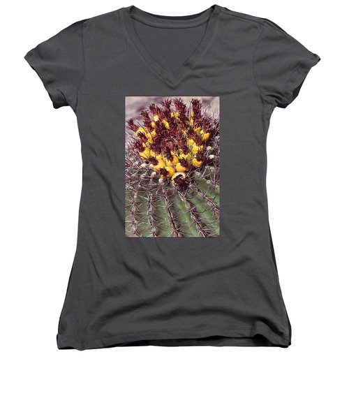 Cactus Women's V-Neck (Athletic Fit)