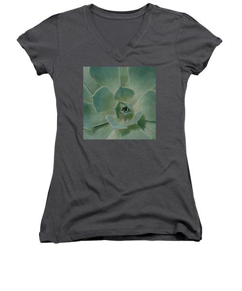 Cactus Heart Women's V-Neck