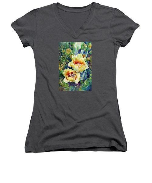 Cactus Splendor I Women's V-Neck
