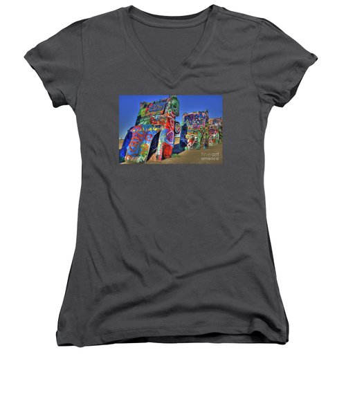 Cadillac Ranch Women's V-Neck