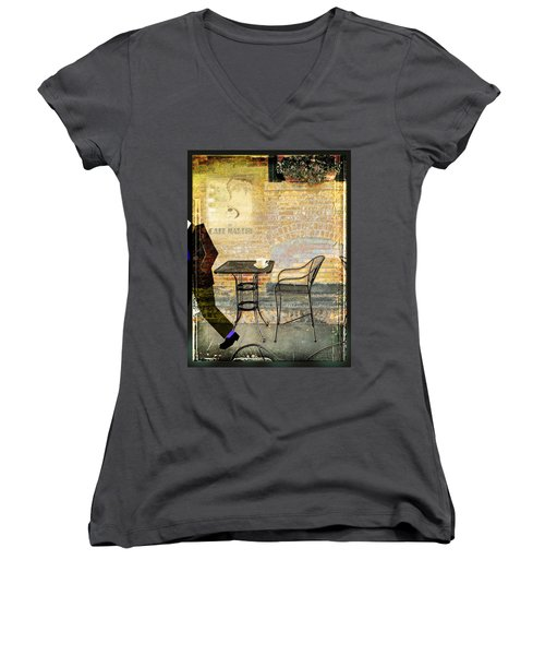 Cafe Martin Women's V-Neck T-Shirt