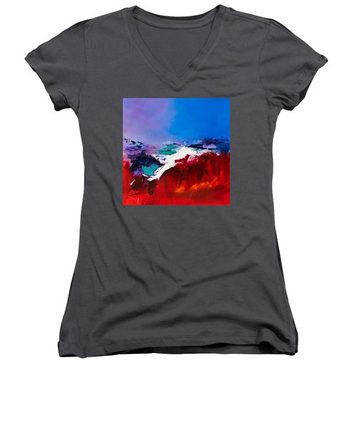 Call Of The Canyon Women's V-Neck (Athletic Fit)