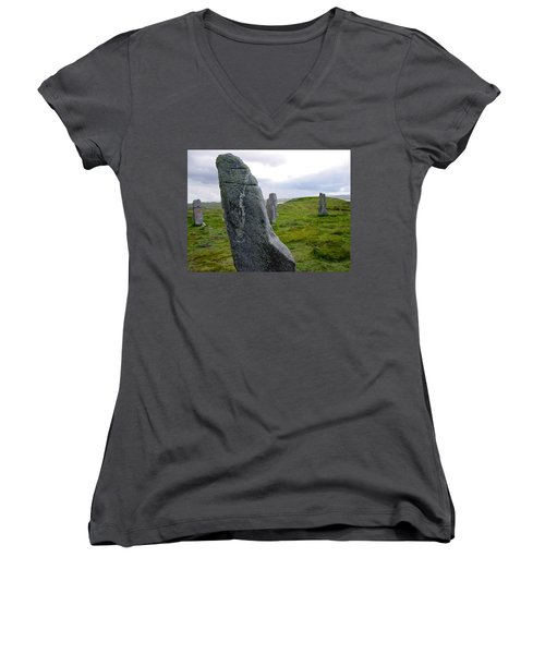 Callanish 3 Women's V-Neck T-Shirt