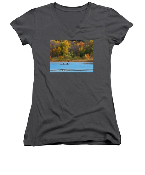 Canoer 2 Women's V-Neck T-Shirt