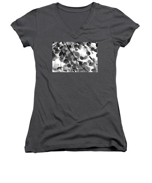 Canopy Women's V-Neck T-Shirt (Junior Cut) by Aaron Aldrich