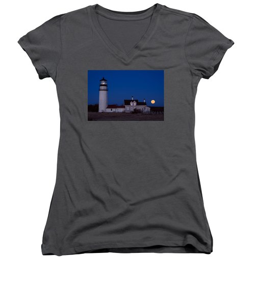 Cape Cod Moonset Women's V-Neck
