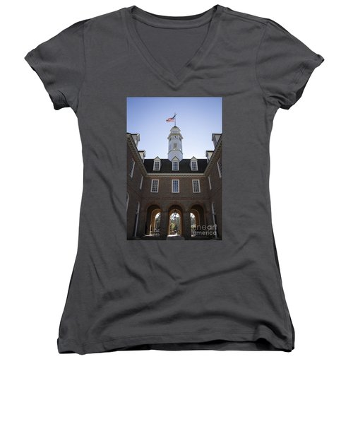 Capitol Arch Rear View Women's V-Neck