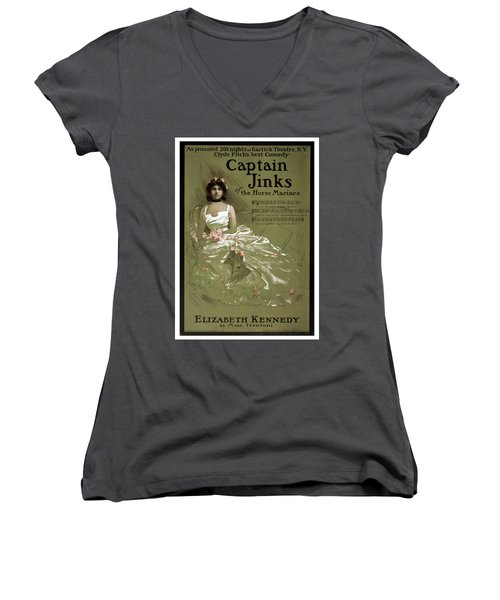 Captain Jinks Women's V-Neck T-Shirt