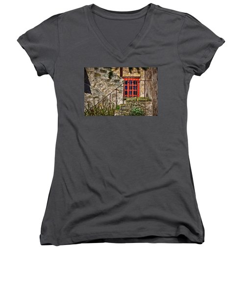 Carmel Mission 10 Women's V-Neck (Athletic Fit)