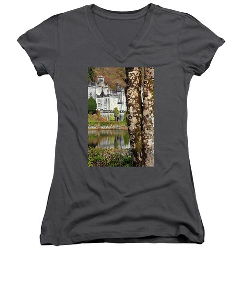 Castle Behind The Trees Women's V-Neck