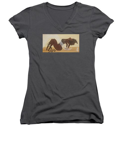 Catching The Breeze Women's V-Neck