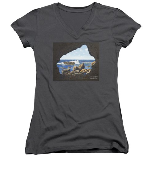 Cave View Women's V-Neck