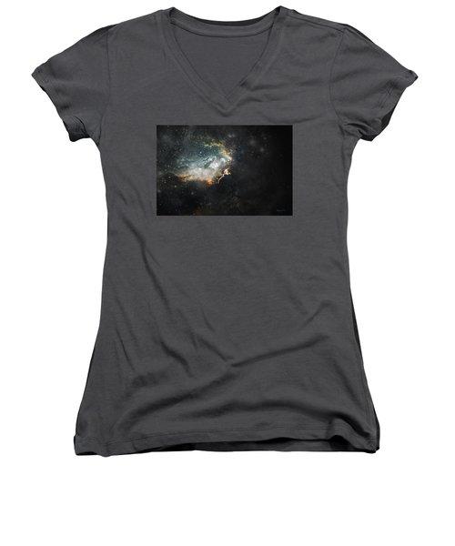 Celestial Women's V-Neck T-Shirt