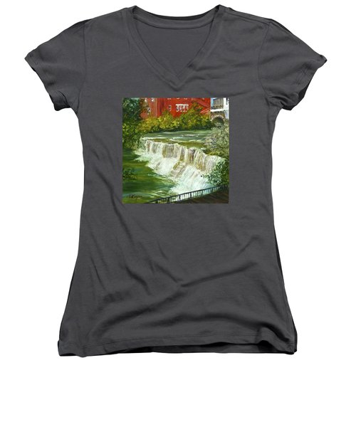 Chagrin Falls Women's V-Neck (Athletic Fit)