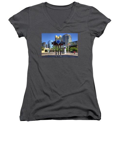 Chase Field Women's V-Neck T-Shirt