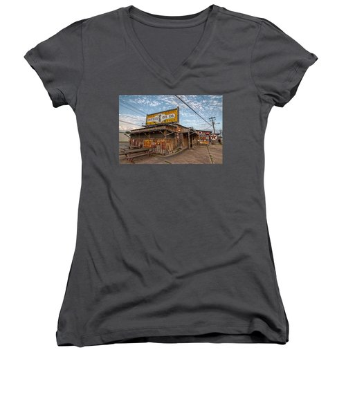 Chicken Oil Company Women's V-Neck T-Shirt