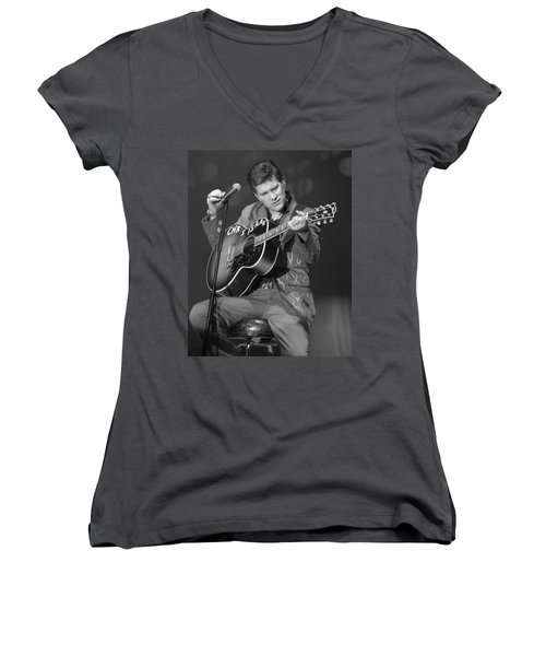 Chris Isaak Women's V-Neck (Athletic Fit)