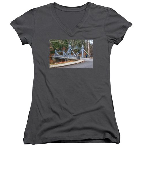 Cinderella Bridge Women's V-Neck (Athletic Fit)