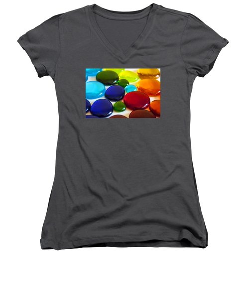 Circles Of Color Women's V-Neck