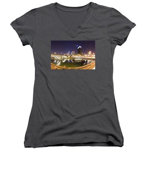 City's Reflection Women's V-Neck