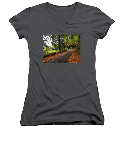Clondegad Country Road Women's V-Neck