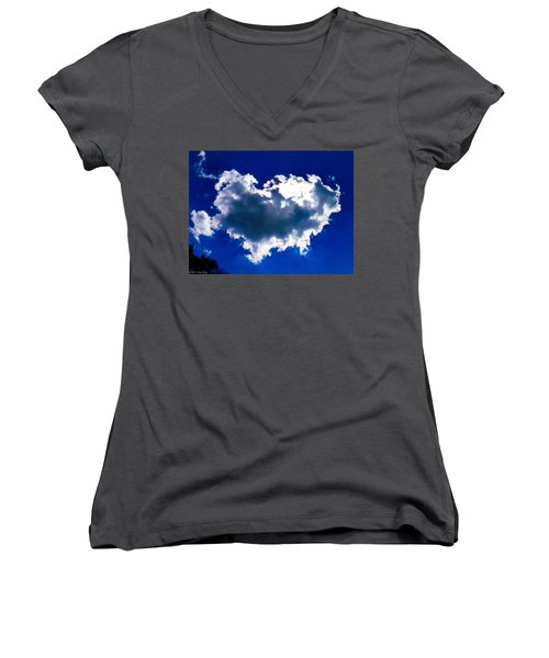 Cloud Women's V-Neck (Athletic Fit)