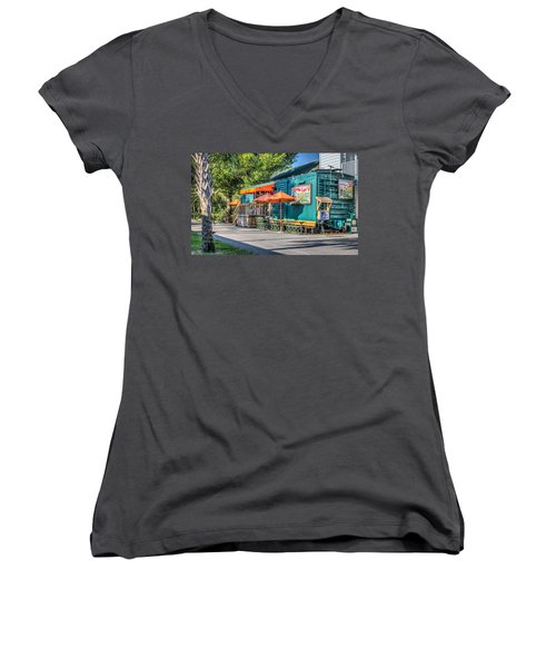 Coffee Shop Women's V-Neck T-Shirt