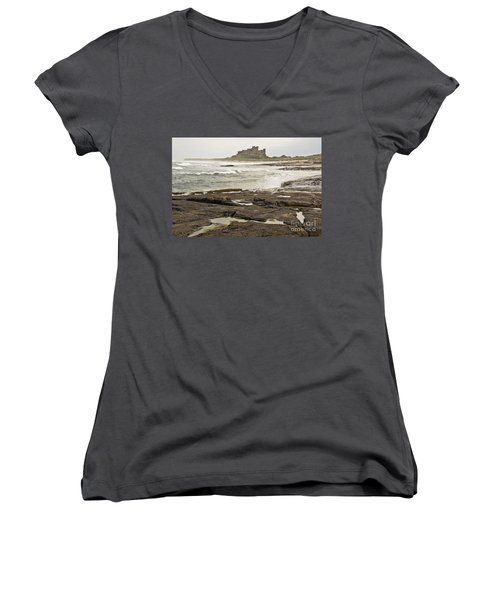Cold Waves Of Northumberland Women's V-Neck