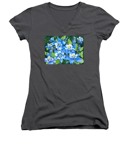 Colorado Columbines Women's V-Neck T-Shirt