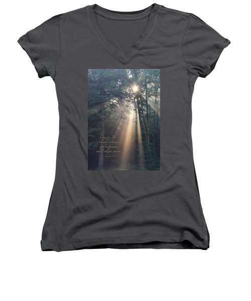 Come To Me Women's V-Neck T-Shirt