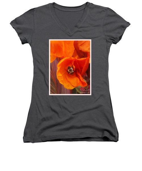 Complimenting One Another Women's V-Neck T-Shirt (Junior Cut)