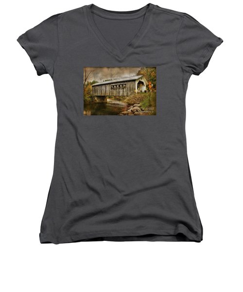 Comstock Bridge 2012 Women's V-Neck