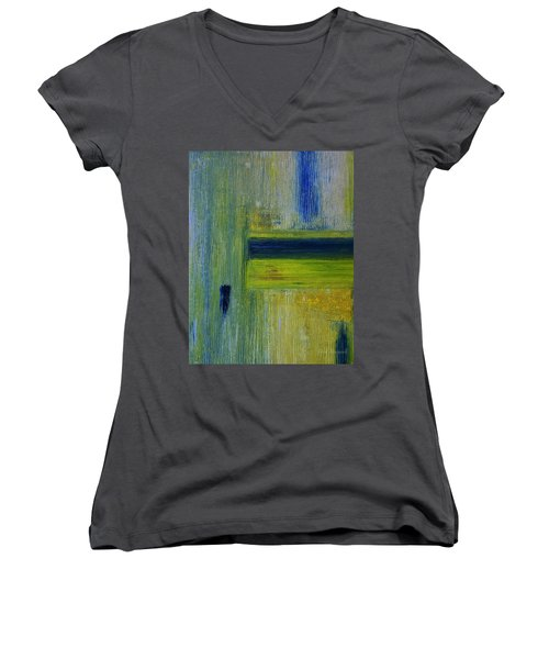 Contact Women's V-Neck T-Shirt