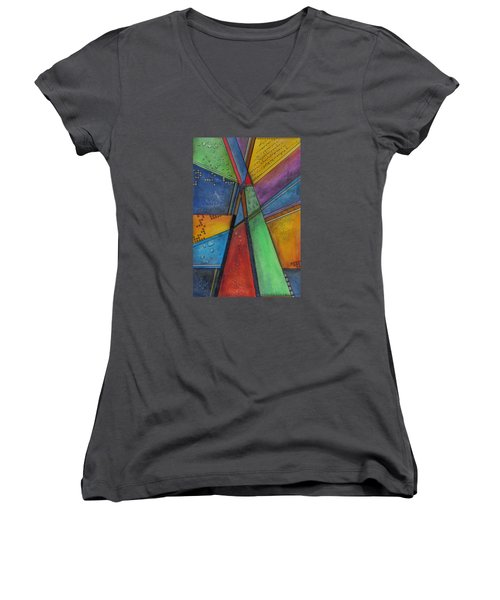 Convergence Women's V-Neck T-Shirt