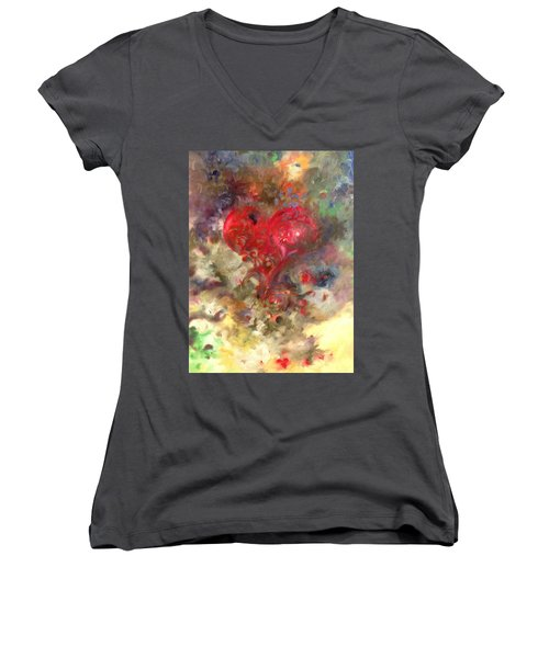Corazon Women's V-Neck T-Shirt