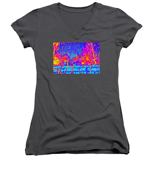 Cosmic Series 017 Women's V-Neck (Athletic Fit)