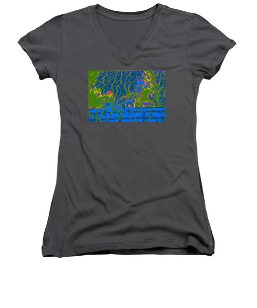 Cosmic Series 019 Women's V-Neck (Athletic Fit)