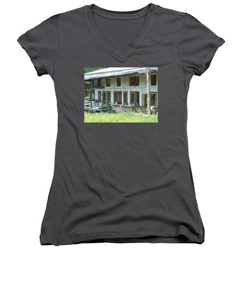 Country Gazing Women's V-Neck T-Shirt