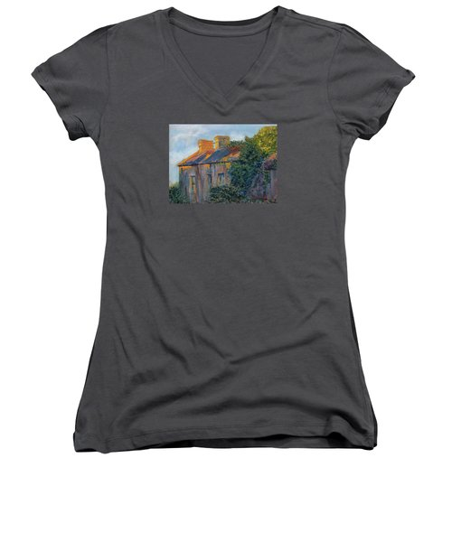 County Clare Late Afternoon Women's V-Neck T-Shirt