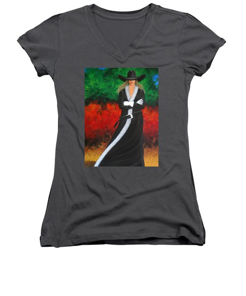 Cowgirl Women's V-Neck T-Shirt