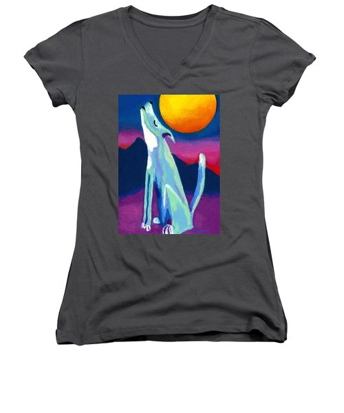 Coyote Azul Women's V-Neck (Athletic Fit)