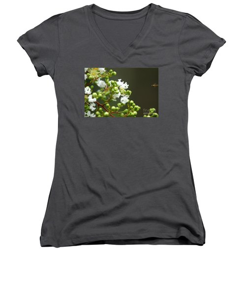 Crape Myrtle Women's V-Neck