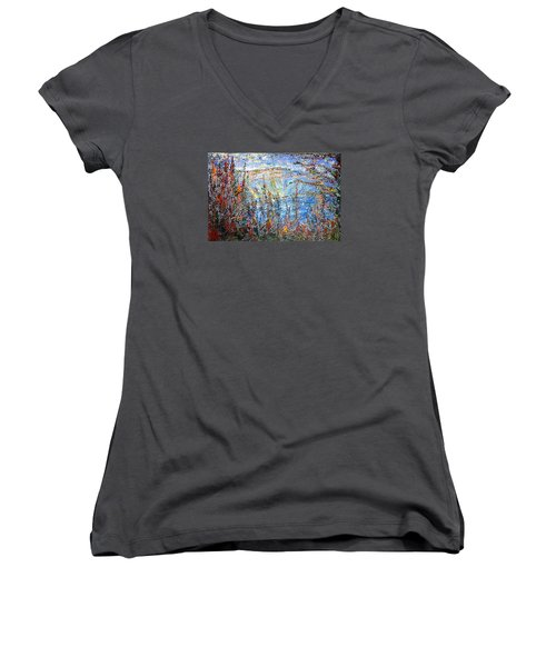 Crater Lake - 1997 Women's V-Neck