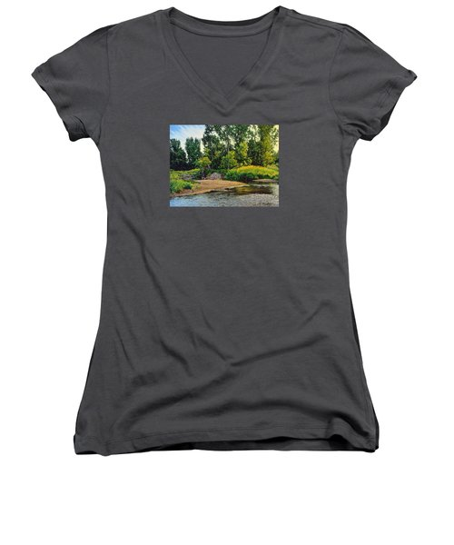 Creek's Bend Women's V-Neck (Athletic Fit)