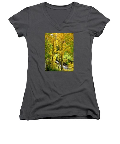 Creekside Women's V-Neck T-Shirt